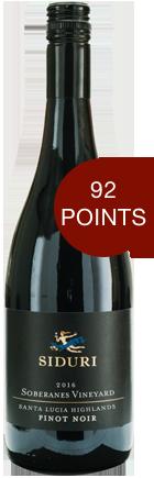 180530 SDI 15 Soberanes Bottle Shot Siduri Wines Update
